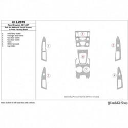 Накладки салона под дерево, карбон, алюминий для Ford Fusion 2013-UP. Комплект L2079.