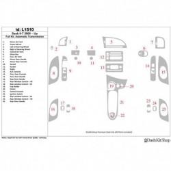 Накладки салона под дерево, карбон, алюминий для Saab 9-7x 2006-UP. Комплект L1510.