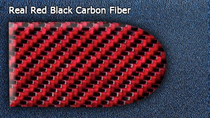 Red Black Carbon Fiber