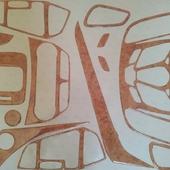 Накладки салона под дерево для Ford Kuga. 📌Цена от 3500 руб. При оформлении заказа укажите промо-код🔥DKS🔥 и получи✉ бесплатную доставку. ⠀ 🌐 https://dekorsalona.ru тел. +7-900-656-75-55 ⠀ #ford #fordkuga #expedition #интерьер #tuning #тюнинг #тюнингсалона #авто #джип #накладкисалона