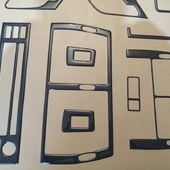 Накладки салона под карбон для BMW X5. 📌Цена от 3500 руб. При оформлении заказа укажите промо-код🔥DKS🔥 и получи✉ бесплатную доставку. ⠀ 🌐 https://dekorsalona.ru тел. +7-900-656-75-55 ⠀ #bmw #bmwe53 #bmwx5 #интерьер #tuning #тюнинг #тюнингсалона #авто #джип #накладкисалона
