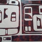 Накладки салона под дерево для Toyota Land Cruiser 100 (Для праворульной машины). 📌Цена от 3500 руб. При оформлении заказа укажите промо-код🔥DKS🔥 и получи✉ бесплатную доставку. ⠀ 🌐 https://dekorsalona.ru тел. +7-900-656-75-55 ⠀ #toyota #toyotalandcruiser #landcruiser #интерьер #tuning #тюнинг #тюнингсалона #авто #джип #накладкисалона